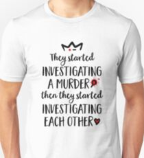 Sleuths in love Unisex T-Shirt