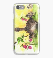 Mother Duck with Babies iPhone Case/Skin