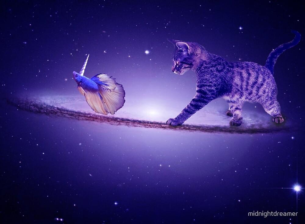 Dreamscape Kitten Space Walk Sombrero Galaxy Chasing Unicorn Beta