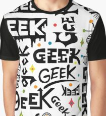 Geek Words Graphic T-Shirt