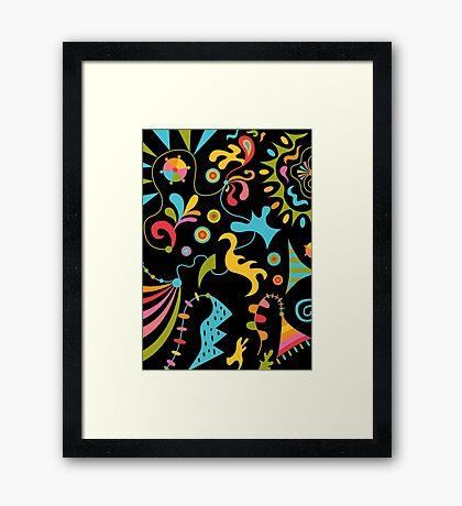 Upbeat Framed Print