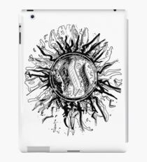 'Steem Explosion' in black and white. iPad Case/Skin