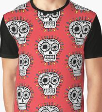 Sugar Skull Fun Graphic T-Shirt