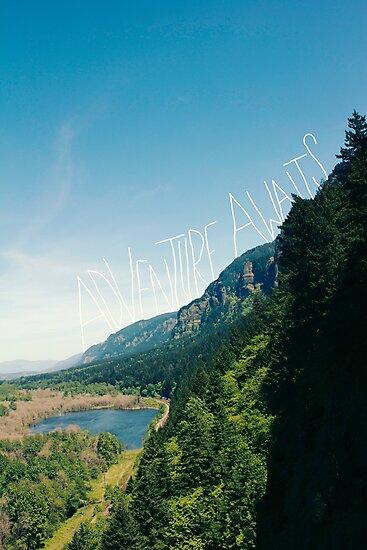 Adventure Awaits by Leah Flores