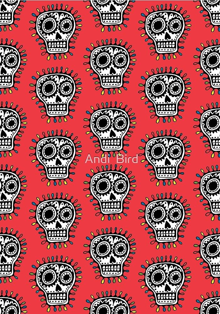 Sugar Skull Fun by Andi Bird