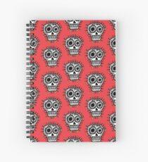 Sugar Skull Fun Spiral Notebook