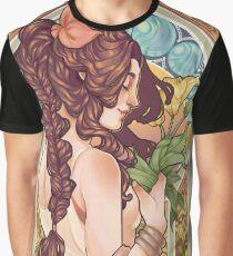 Aerith Nouveau Graphic T-Shirt