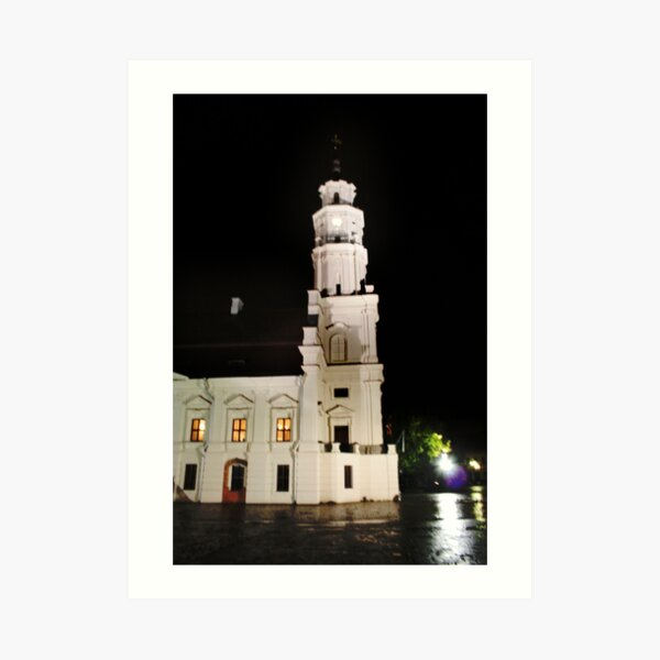 The Old Town in the Kaunas Art Print