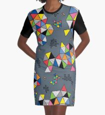 Edgewise grey Graphic T-Shirt Dress