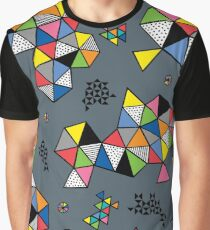 Edgewise grey Graphic T-Shirt