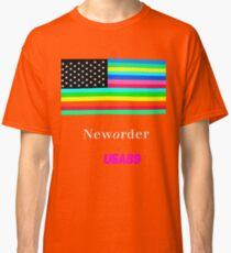Joy Division New ORDER Technique EP 1989 Flag tour Promo Shirt Classic T-Shirt