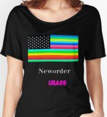 Joy Division New ORDER Technique EP 1989 Flag tour Promo Shirt Women's Relaxed Fit T-Shirt