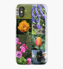 Flowers and Feathers - Keukenhof Collage iPhone Case/Skin