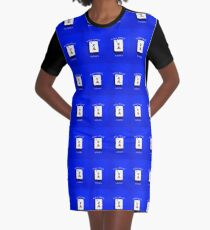 "Lucky Seven ""Mah Jongg Maven"" #7 ~ Mah Jongg Series Graphic T-Shirt Dress"