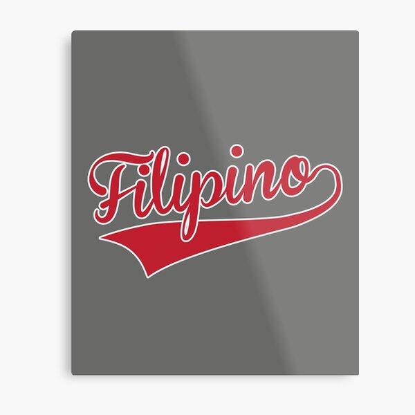 Filipino Metal Print