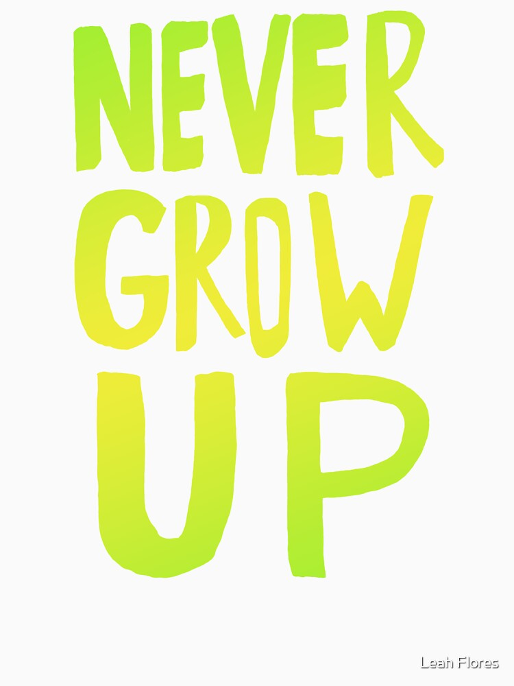 Never Grow Up III by adventurlings