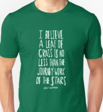 Whitman: Leaf of Grass T-Shirt