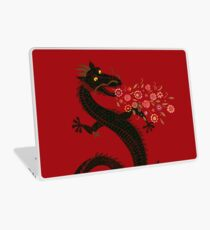 Dragon, Flower Breathing Laptop Skin