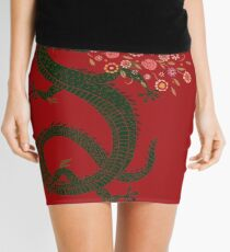 Dragon, Flower Breathing Mini Skirt
