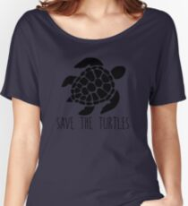Turtle Women's Relaxed Fit T-Shirt