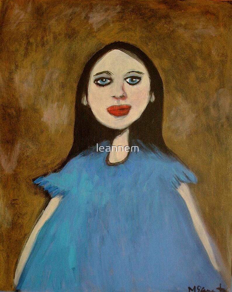 Blue Dress by leannem
