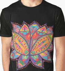 bright and colourful lotus flower  Graphic T-Shirt