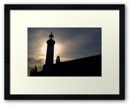 St Mathieu lighthouse. by Jean-Luc Rollier