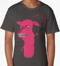 Bad Explanation Art Dog Long T-Shirt