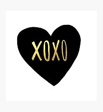 XOXO Photographic Print
