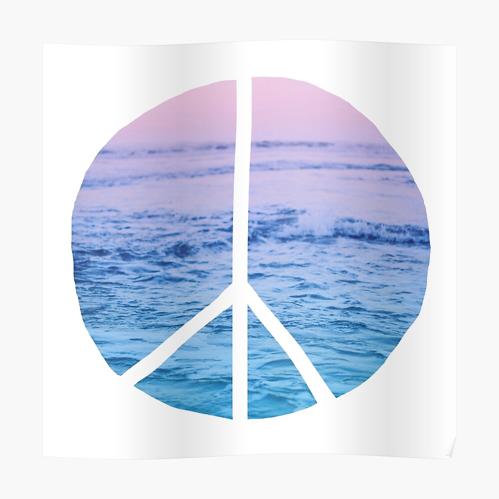 Wellen und Frieden Poster