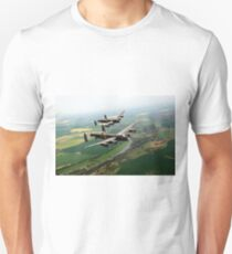 Two Lancasters over the Upper Thames T-Shirt