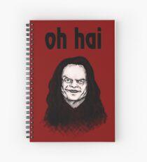 """Oh Hai""  Spiral Notebook"