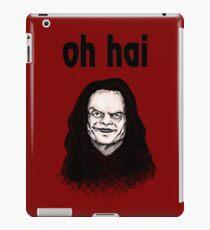 """""""Oh Hai""""  iPad Case/Skin"""