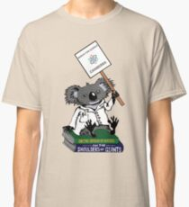 March for Science Canberra – Koala, full color Classic T-Shirt