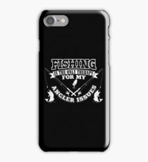 Fishing Angler Issues iPhone Case/Skin