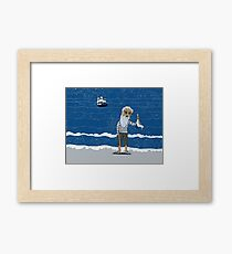The Ancient Mariner Framed Print
