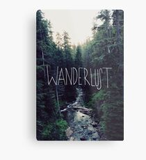 Wanderlust Rainier Creek Metal Print
