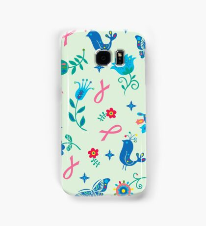 Breast Cancer Hope Samsung Galaxy Case/Skin