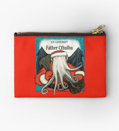 Father Cthulhu Zipper Pouch