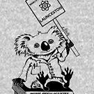 March for Science Launceston – Koala, black by sciencemarchau