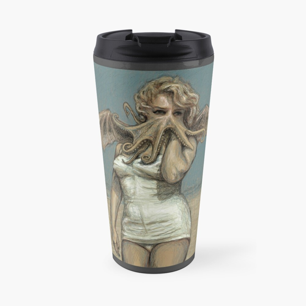 """Call of Cthulyn, 2014""  Travel Mug"