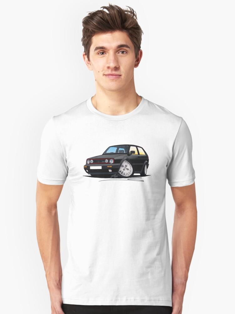 VW Golf GTi (Mk2) Black by yeomanscarart