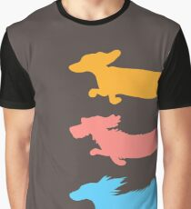 Run Doxies Run Graphic T-Shirt