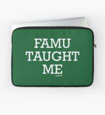 FAMU Taught Me Laptop Sleeve