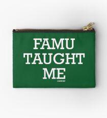 FAMU Taught Me Studio Pouch