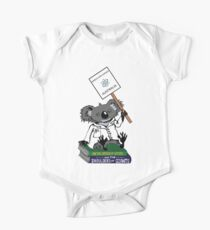 March for Science Australia – Koala, full color Kids Clothes