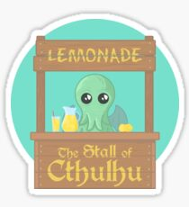 Stall of Cthulhu Lime 1 Sticker