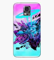 Crystal Wolf  Case/Skin for Samsung Galaxy