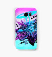 Crystal Wolf  Samsung Galaxy Case/Skin