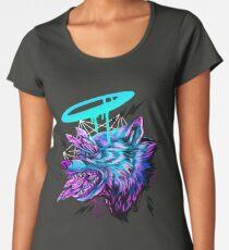 Crystal Wolf  Women's Premium T-Shirt